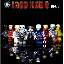 Set 9 Iron Man Marvel Ironman