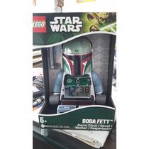 Reloj Lego Bobba Fet Y Yoda