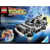 21103 Lego Volver Al Fututo Iii Delorean 401 Pza Back Future
