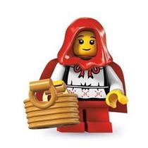 Lego 8831 Minifiguras Serie 7 Caperucita Roja!!