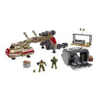 Megabloks Halo 590 Piezas Smuggler Interceptor + 2 Agentes