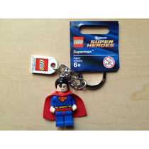 Llavero Superman Clasico Man Of Steel Lego Ugo Envio Gratis