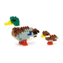Nanoblocks - Animales Nbc-061 - Pato Canadiense