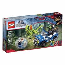 Lego Jurassic World Dilophosaurus Ambush Modelo 75916