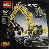 Excavadora Y Tractor Lego Technic 42006 Nuevo 2 En 1