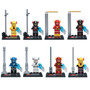 Figuras Flash Lego Compatible, Flash Reverso