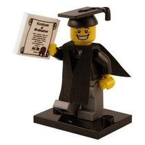 Lego 8805 Minifigure Serie 5 Graduado !!!! Mmu