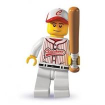 Lego 8803 Minifigure Serie 3 Jugador De Beisball !!! Mmu