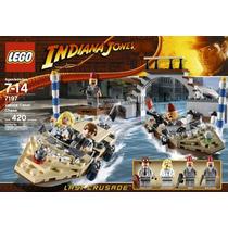 Lego Indiana Jones La Ultima Cruzada Canal De Venecia 7197