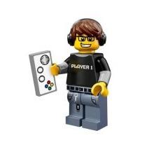 Lego Minifiguras Serie 12 71007 Chico Gamer