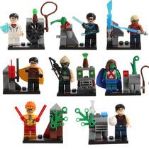 Figuras Tipo Lego De Jovenes Justicieros (young Justice)
