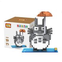 Totoro Figura Lego Para Armar Modelo Escala Mini Block Loz