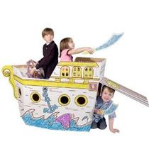 Barco Pirata - Marcadores Incluidos