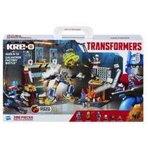 Transformers Kre-o De Hasbro Galvatron Factory Battle 388pzs