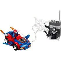 Lego Juniors 10665: Spider-man Ataque Al Auto Araña