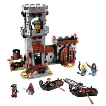 Lego Piratas Del Caribe Set # 4194 Whitecap Bay Completo