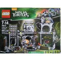 Lego Tortugas Ninjas Mod 79117 Invasion A La Guarida Nuevo