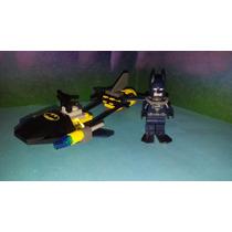 Lego Batman Con Speeder Acuatico Nave Lancha Super Heroes Js