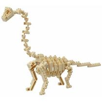 Nanoblock - Dinosaurio - Dinosaurio Esqueleto Branchiosaurio