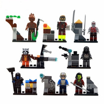 Figuras De Guardianes De La Galaxia 8 Figuras Para Armar