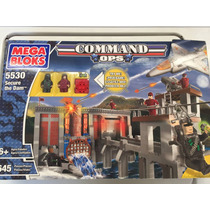 Secure The Dam / Megabloks Command Ops 5530 / 645 Piezas