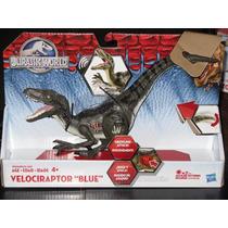 Jurassic World Velociraptor Blue Electronico 2015 Park Movie