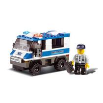 Modelo Prisión De Autobús - Sluban La Policía De Vehícul