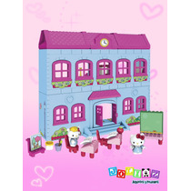Escuela Hello Kitty Mega Bloks Figura De Hello Kitty Y Fifi
