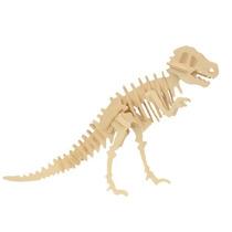 Dinosaurio Modelo - Kit De Artesanía En Madera De Construcc