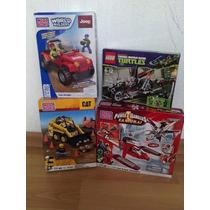 Lote Lego Megablok Tortugas Cat Jeep Power Ranger