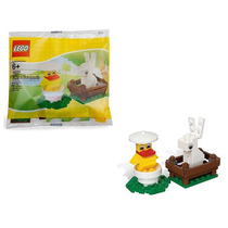 40031 Pato En Cascaron Y Conejo Lego Ugo Envio Gratis