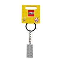 Llavero Original Lego Minifigura Clásico: Bloque Metalizado