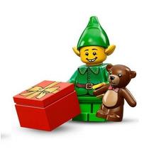Lego 71002 Minifigures Serie 11 Duende Ayudante De Santa