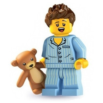 Lego 8827 Minifiguras Serie 6 Sleepy Head!!