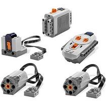 Lego Power Functions 5pc Motor Batería Receptor Ir Set
