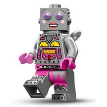 Lego 71002 Minifigures Serie 11 Chica Robot