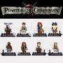 Piratas Del Caribe 8 Figuras Compatible Con Lego