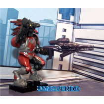 Megabloks Halo Bravo Series Figura Skirmisher Major Rifle
