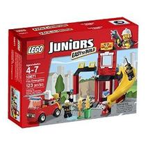 Lego Juniors Fuego Emergencia 10671 Edificio Set
