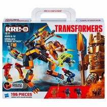 Tb Kre-o Transformers Dino Force Grimlock Street Attack