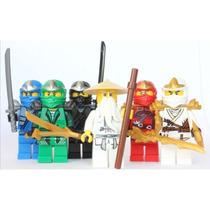 Tb Lego Ninjago - Sensei Wu + 5 Zx Ninjas