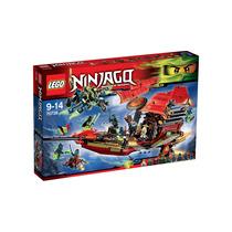 Lego Ninjago 2016 El Vuelo Final Del Navio Del Destin 70738!