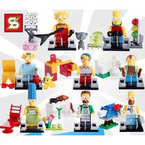 Figuras Lego Los Simpsons Compatible