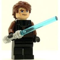 Lego Star Wars Minifig Anakin Skywalker Guerras Clon