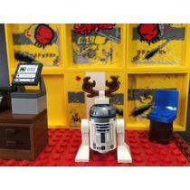 Lego Figura R2d2 Navideño