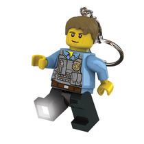 Llavero Lego Detective Chase Mccain Con Leds Propia