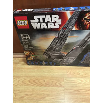Lego Star Wars Nave Comando Kylo Ren 75104 Con 1005 Piezas