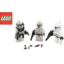 Lego 3 Clones De Guerra Originales Nuevos