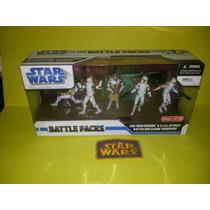 Star Wars Battle Pack Obi Wan And 212th Batallion