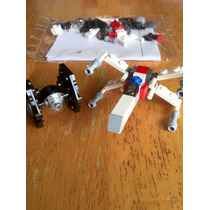 Lego Star Wars Set De Naves Mini X Wing Y Tie Fighter